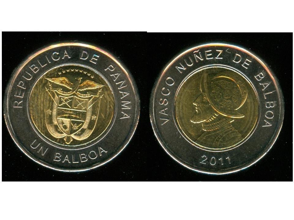 Panama Moneda Bimetalica Un Balboa Ano 2017 Sin