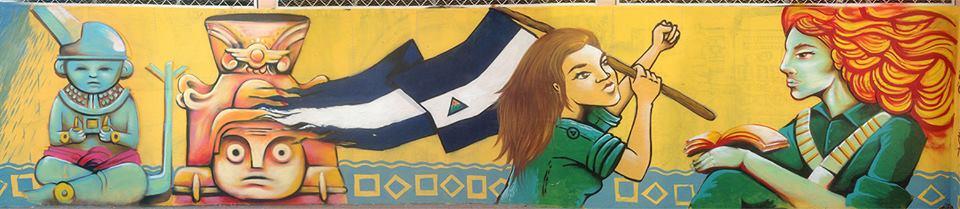 Thief y Mez Ubicación: Escuela Anexa, Estelí - Nicaragua Fecha: Enero, 2015