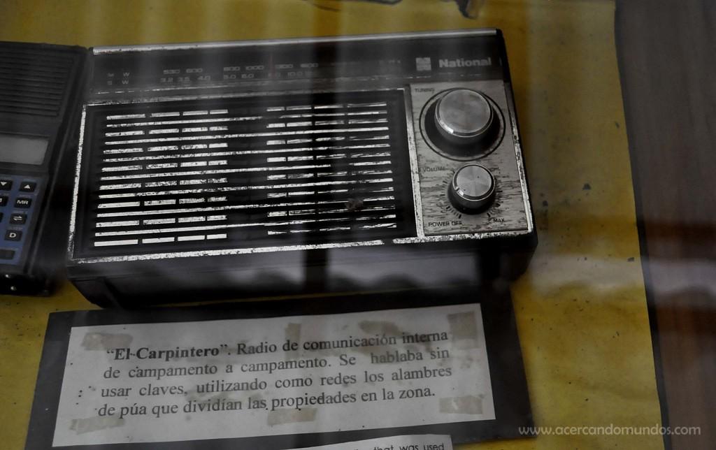 Radio igualita a la del padre de Mariana, usada actualmente para escuchar los partidos de Grêmio